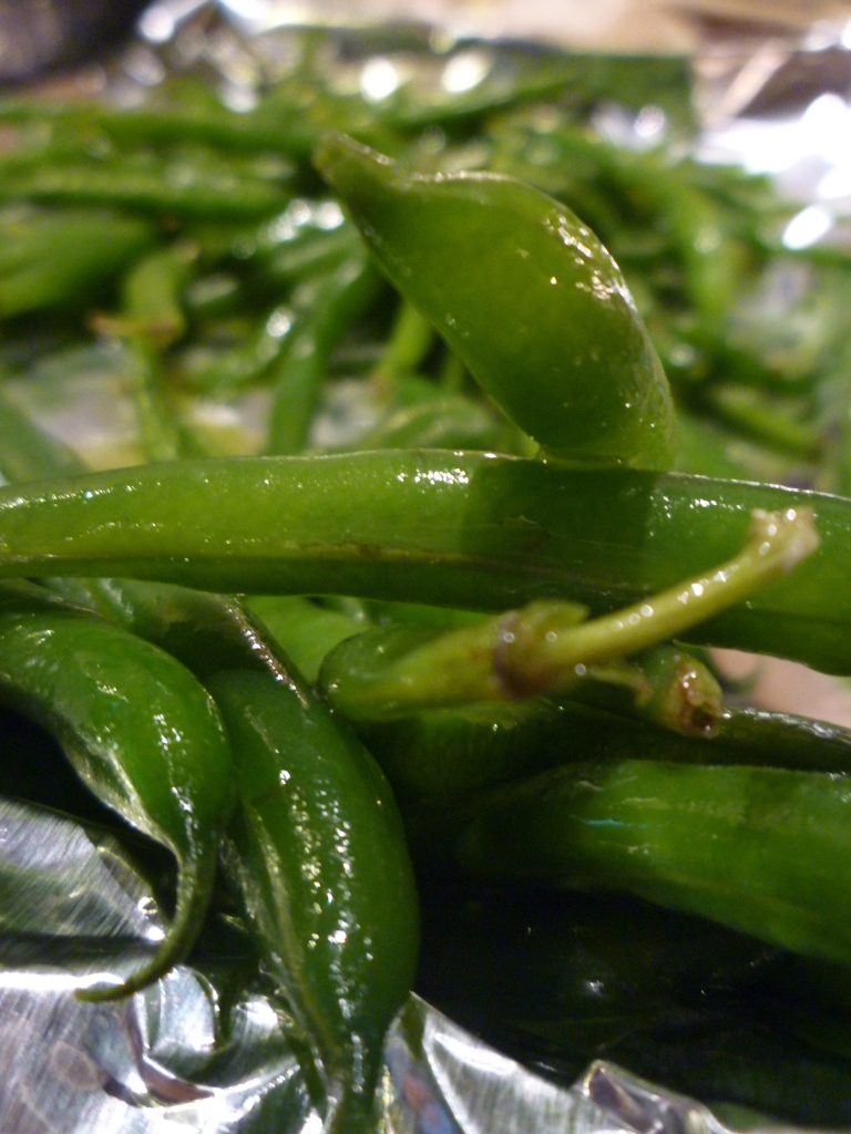 Because We Don't Really Like Green Beans: Garlic Roasted Green Beans